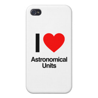 i love astronomical units case for iPhone 4