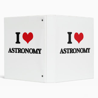 I Love Astronomy 3 Ring Binder