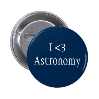 I Love Astronomy Button