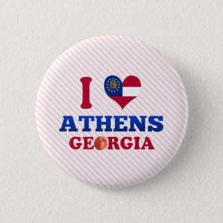 I Love Athens, Georgia Button