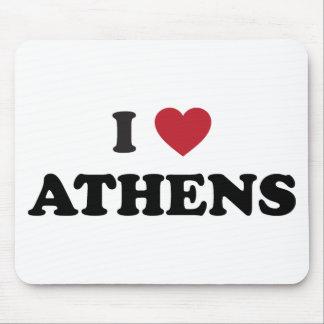 I Love Athens Georgia Mouse Pad