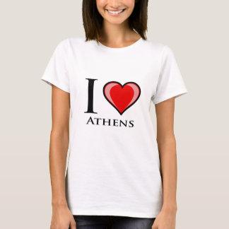 I Love Athens T-Shirt