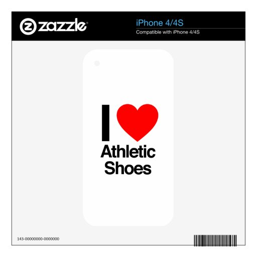 i love athletic shoes skins for the iPhone 4S