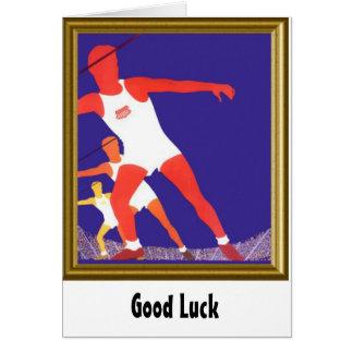 I love athletics card