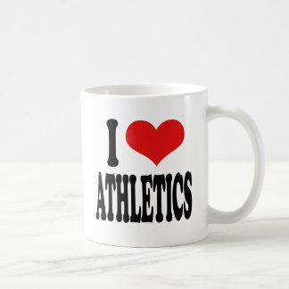 I Love Athletics Coffee Mug