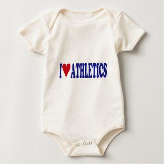 I Love Athletics Romper