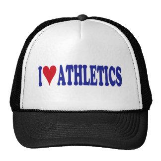 I Love Athletics Trucker Hats