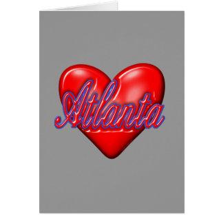 I Love Atlanta Card
