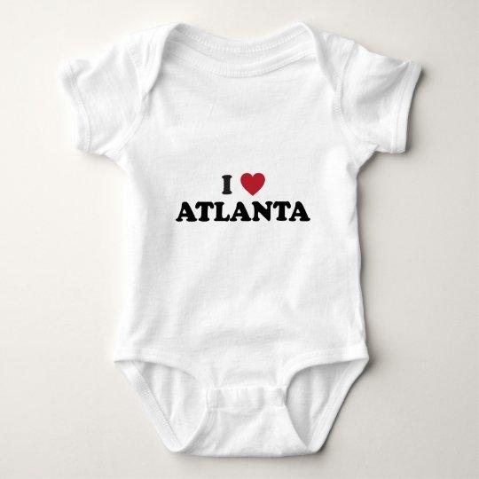 I Love Atlanta Georgia Baby Bodysuit