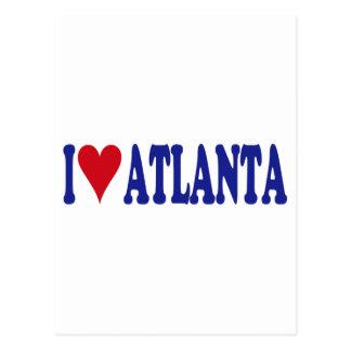 I Love Atlanta Postcards