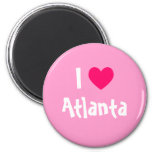 I Love Atlanta Refrigerator Magnet
