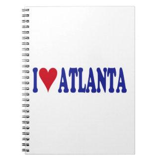 I Love Atlanta Spiral Notebook