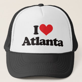 I Love Atlanta Trucker Hat