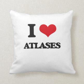 I Love Atlases Pillows
