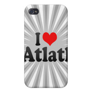 I love Atlatl iPhone 4/4S Cover