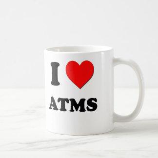 I Love Atms Coffee Mugs