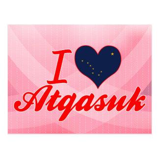 I Love Atqasuk, Alaska Post Cards
