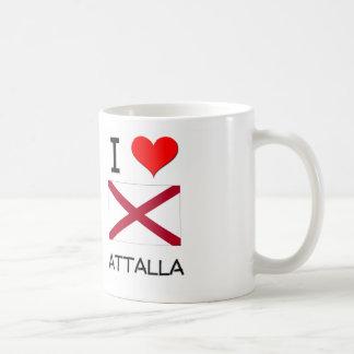 I Love ATTALLA Alabama Coffee Mugs