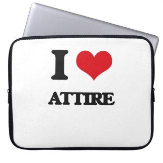 I Love Attire Laptop Sleeves