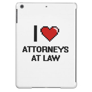 I love Attorneys At Law iPad Air Case