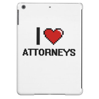 I love Attorneys iPad Air Cover
