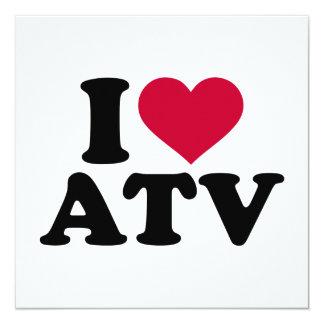 I love ATV Card