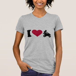 I love ATV Quad T-Shirt