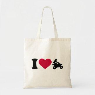 I love ATV Quad Tote Bag