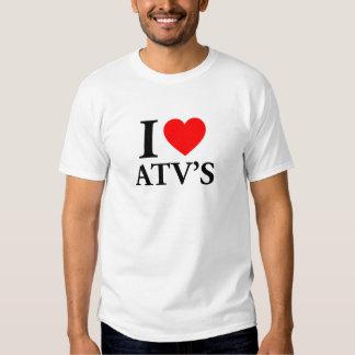 I Love ATV'S Shirt