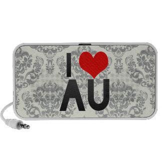 I Love AU Mp3 Speaker