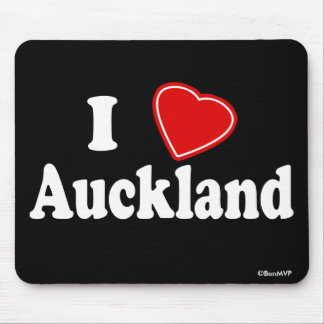 I Love Auckland Mouse Pads