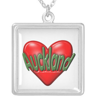 I Love Auckland Necklaces