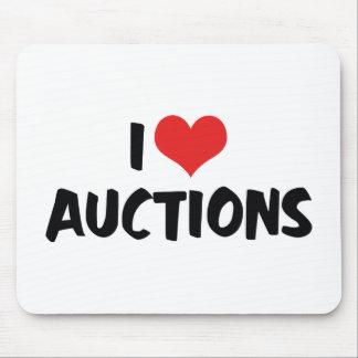 I Love Auctions Mousepad