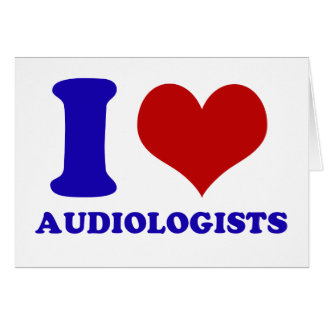 I love audiologists design card