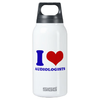 I love audiologists design thermos water bottle