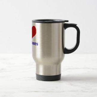 I love audiologists design travel mug