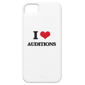 I Love Auditions iPhone 5 Cover