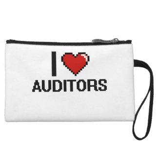 I love Auditors Wristlet Purse