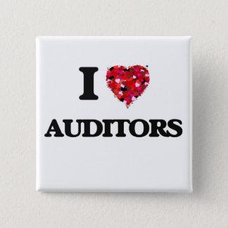 I Love Auditors Pinback Button