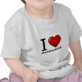 I LOVE AUGUSTA GA - GEORGIA TEE SHIRT