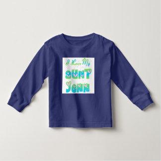 I Love Aunt Jenn Toddler T-shirt