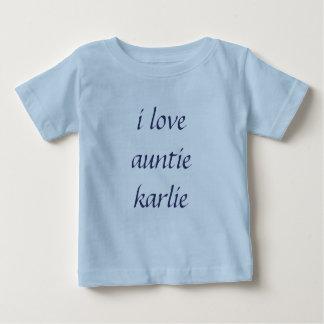 i love auntie karlie t shirt