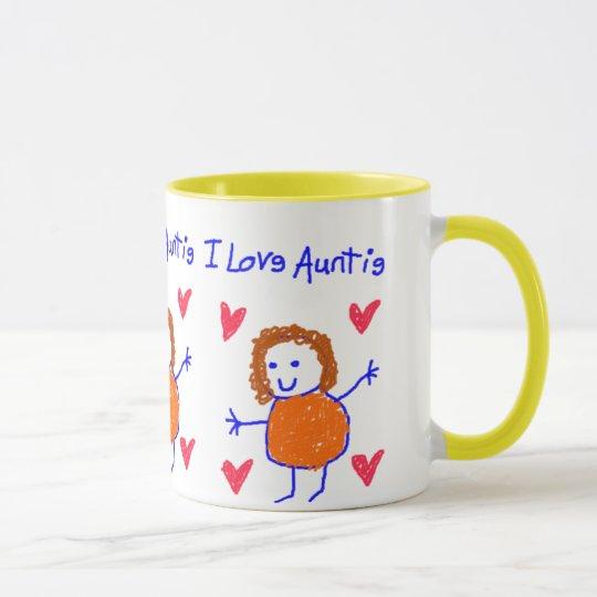I Love Auntie Mug