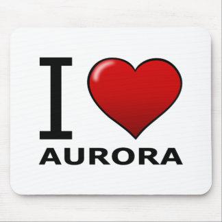 I LOVE AURORA,CO - COLORADO MOUSE PADS