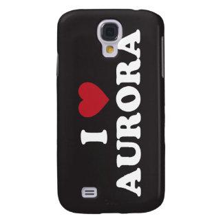 I Love Aurora Colorado Galaxy S4 Case