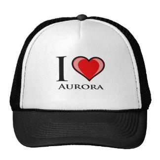I Love Aurora Trucker Hat