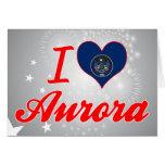 I Love Aurora, Utah Cards