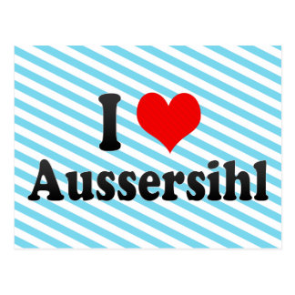 I Love Aussersihl, Switzerland Postcard