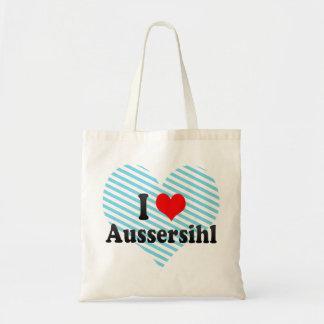 I Love Aussersihl, Switzerland Tote Bag