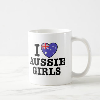 I Love Aussie Girls Coffee Mug